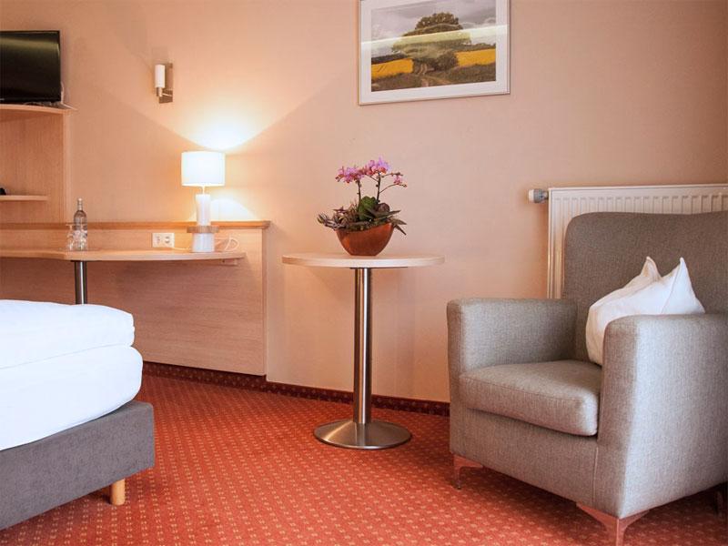 Einzelzimmer im Müritz-Strandhotel