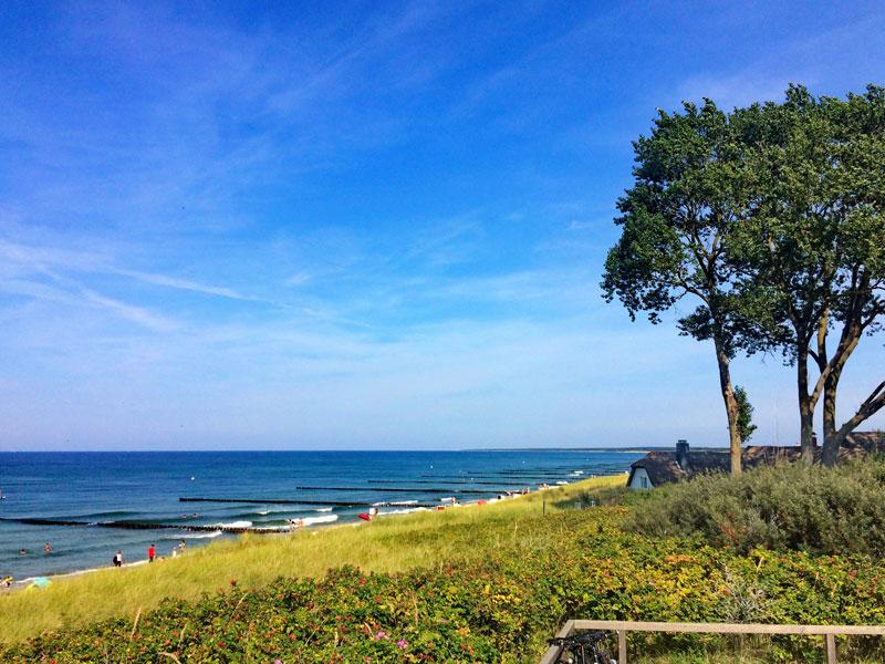 Ostseeküste vom Ahrenshoop