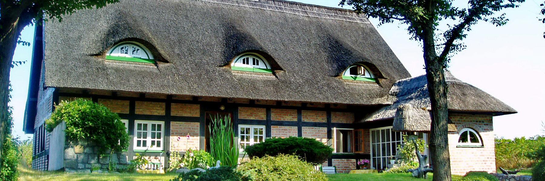 Hausansicht - Dünenhaus Heike