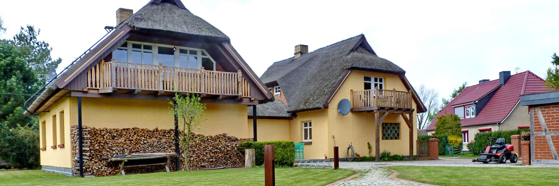 Außenansicht Pension - Eis-Café Schumann & Pension