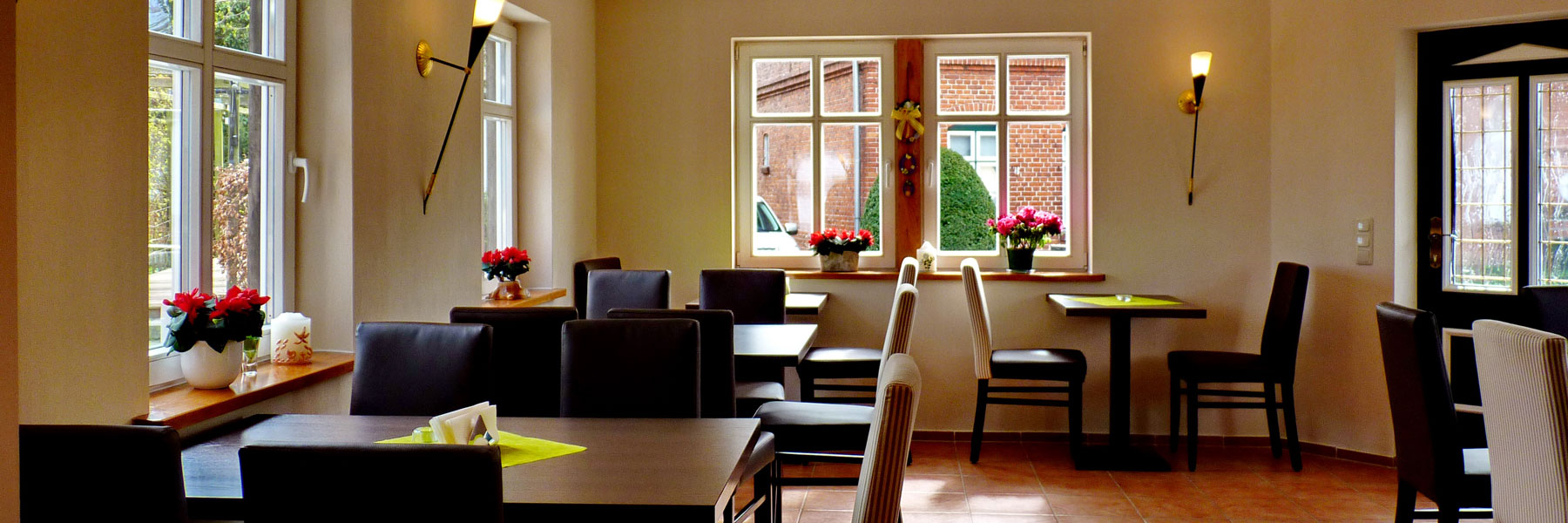 Gastraum - Eis-Café Schumann & Pension