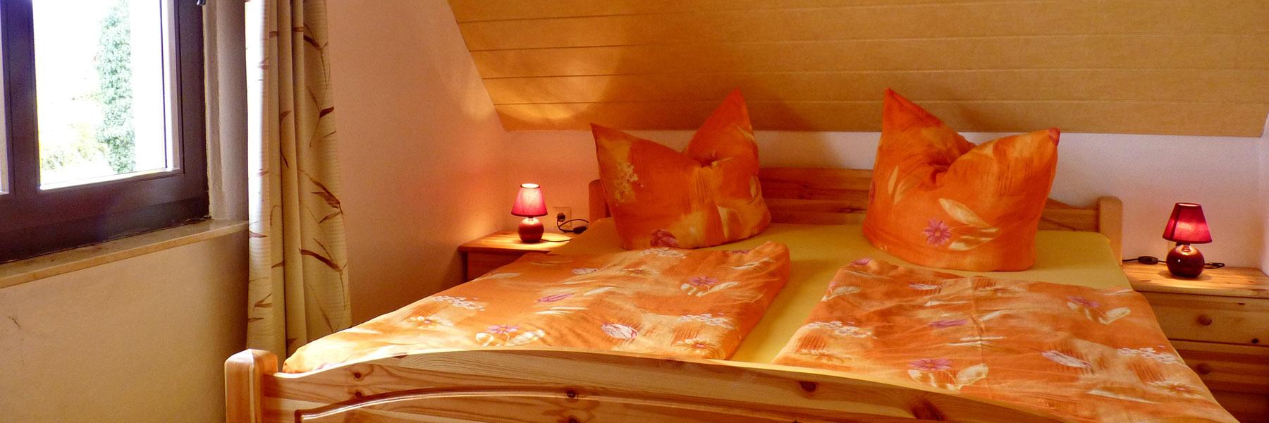 Schlafzimmer - Eis-Café Schumann & Pension