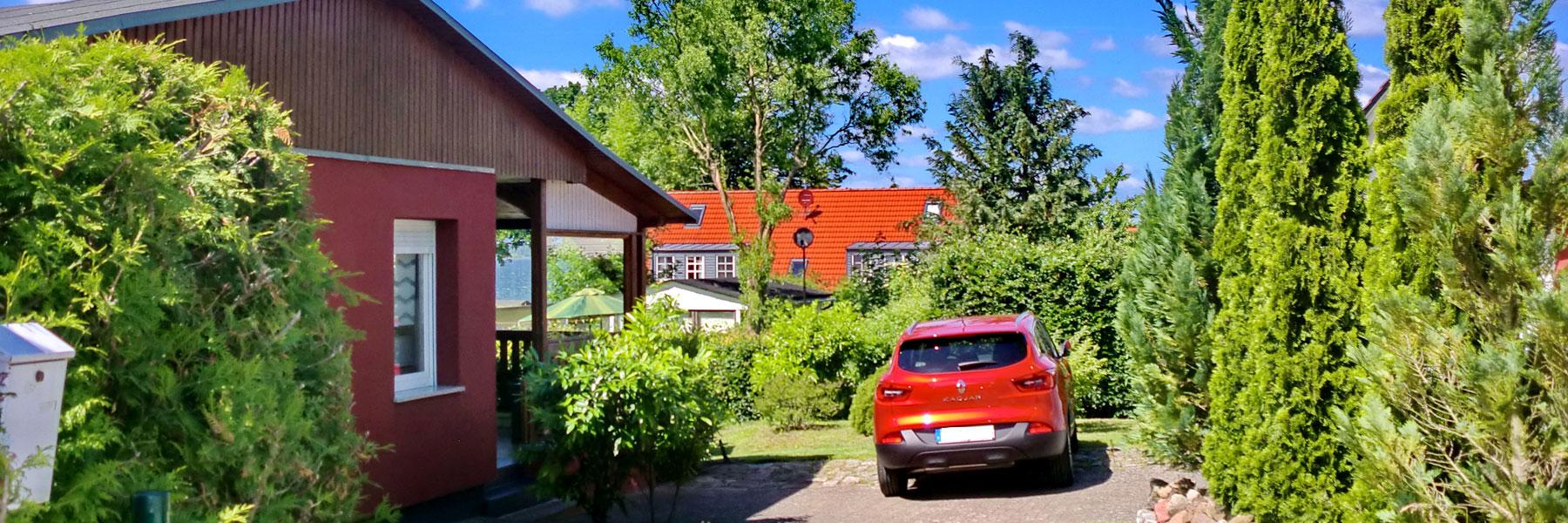 Hausansicht - Ferienhaus Paape