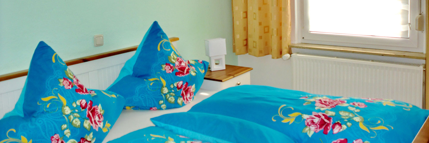 Schlafzimmer - Ferienhaus Paape