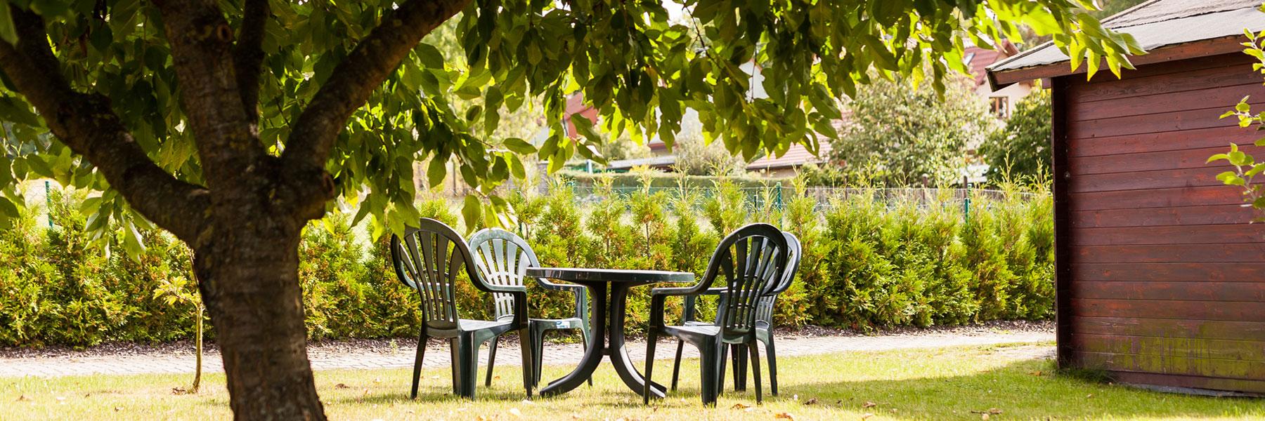 Garten - Ferienwohnungen Ebel