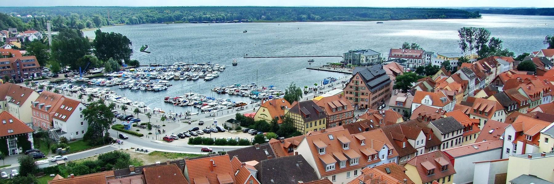 Hafen Waren (Müritz) - Hotel am Weinbergschloss