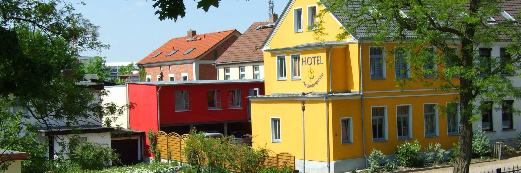Hausansicht - Hotel am Weinbergschloss