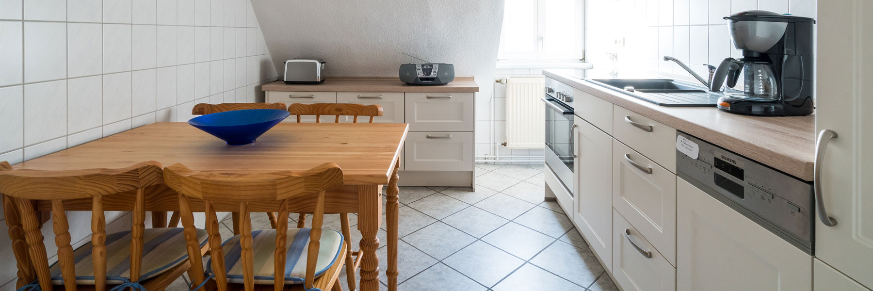 Küche - Ferienwohnungen Bork