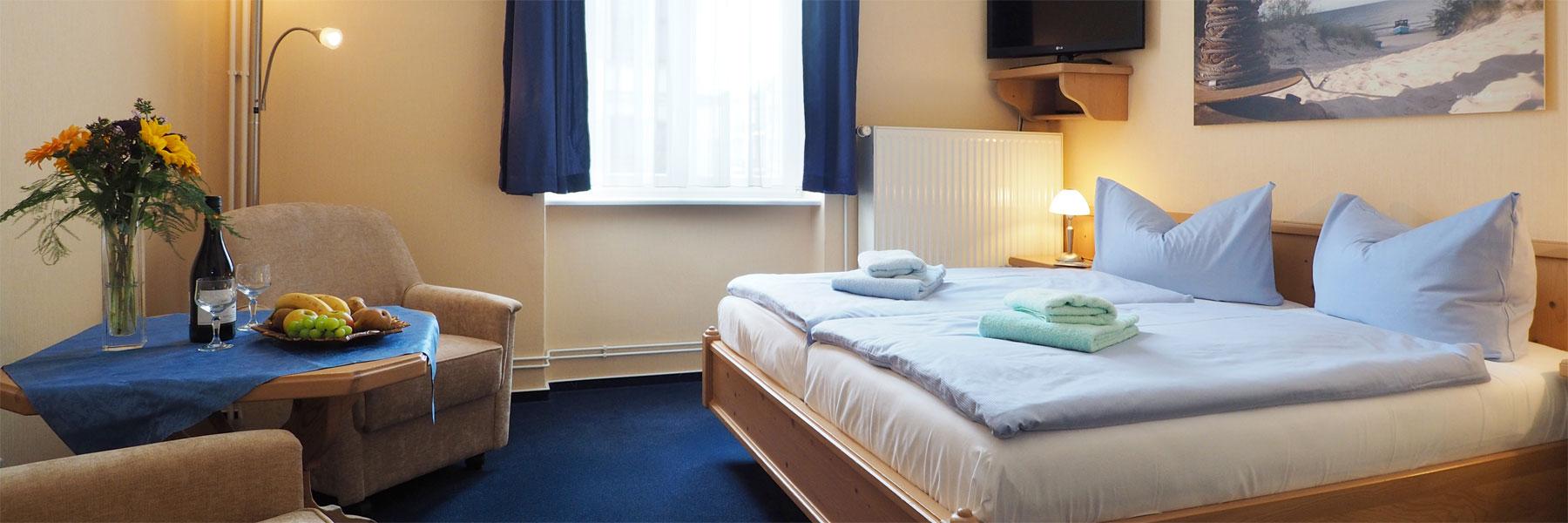 Doppelzimmer - Pension Carlsburg