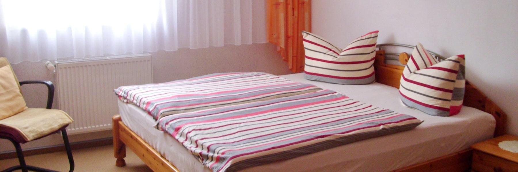 Doppelbett - Fewo Hildebrandt