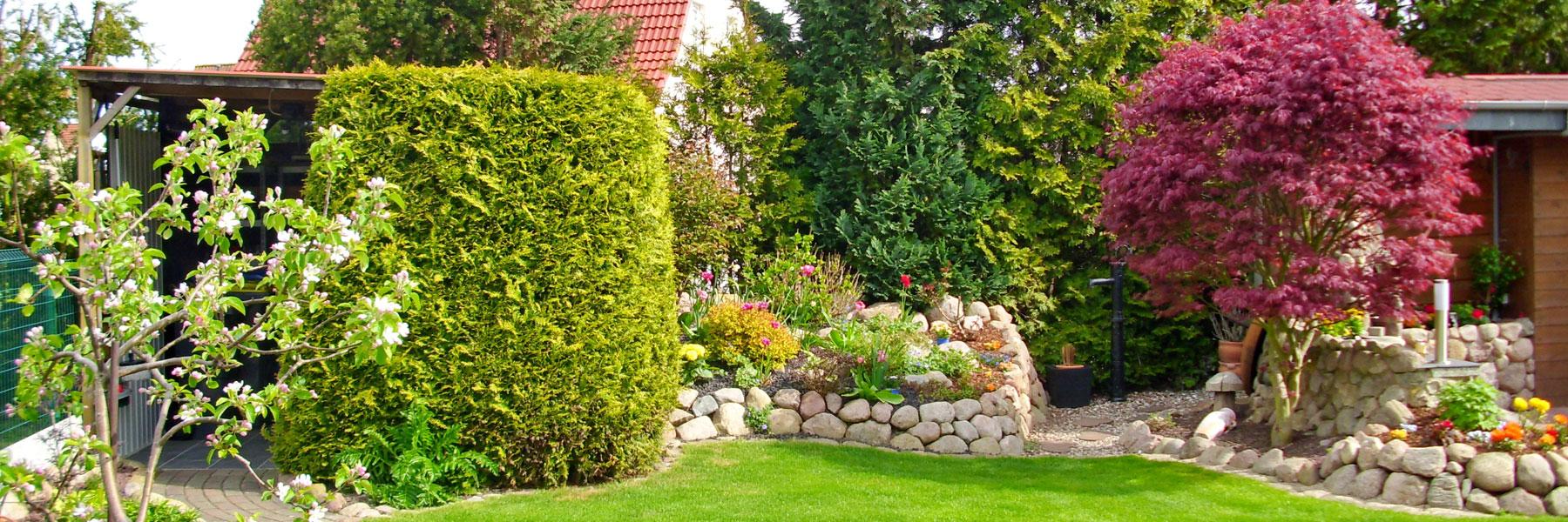 Garten - Fewo Hildebrandt