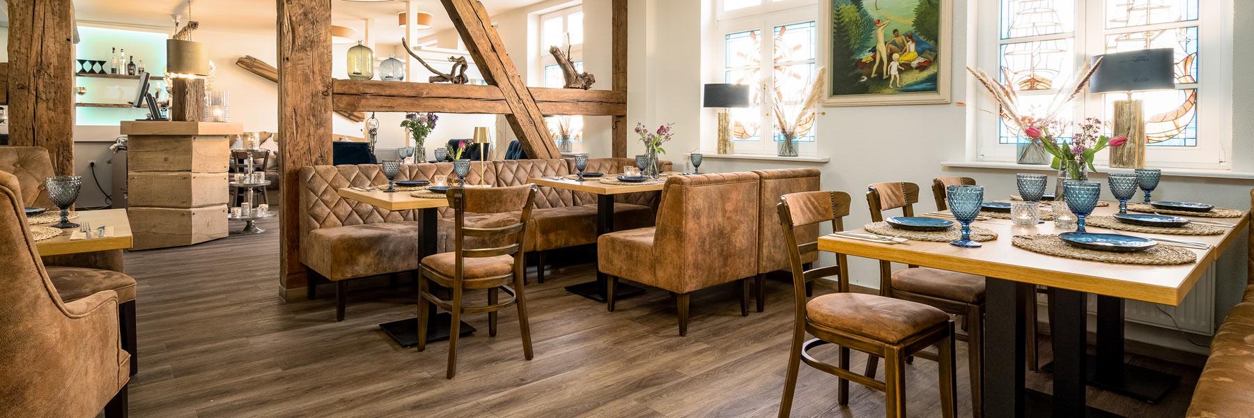 """Gastraum - Restaurant & Ferienwohnungen """"Blaue Maus"""""""