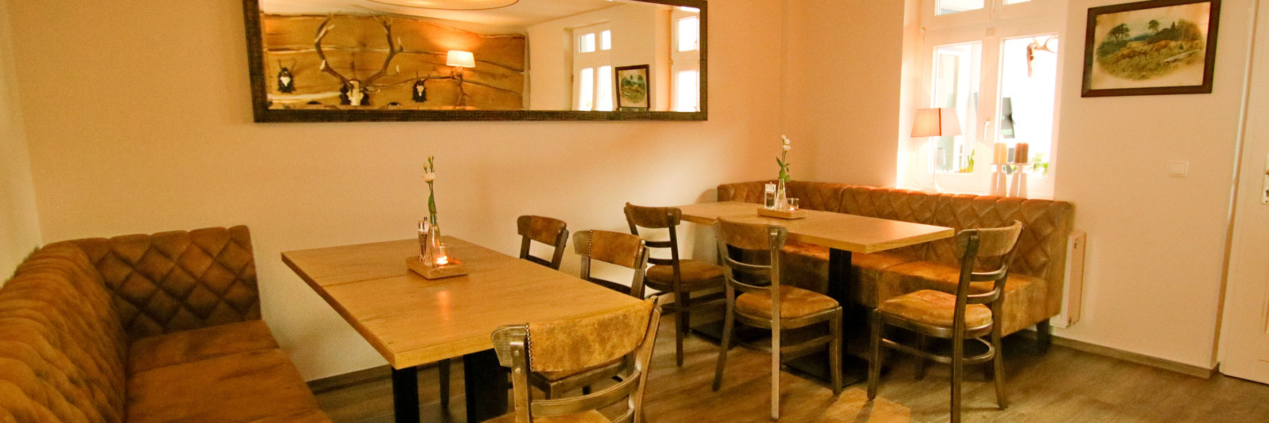"""Restaurant - Restaurant & Ferienwohnungen """"Blaue Maus"""""""