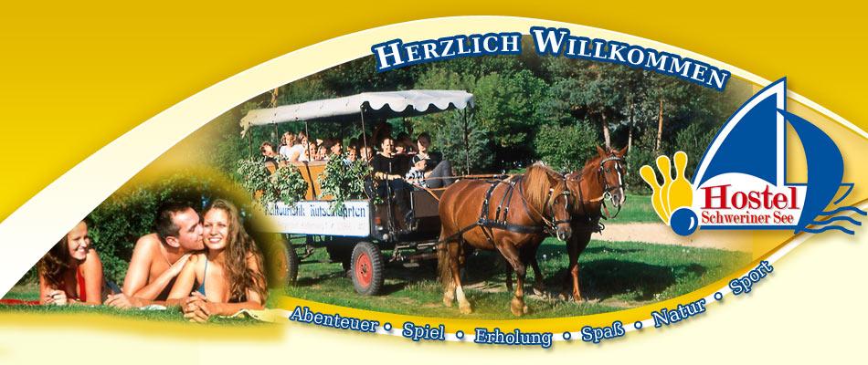 Kutschfahrt - Hostel  Schweriner See