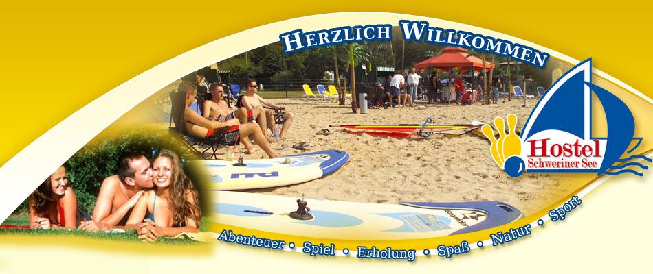 Willkommen - Hostel  Schweriner See