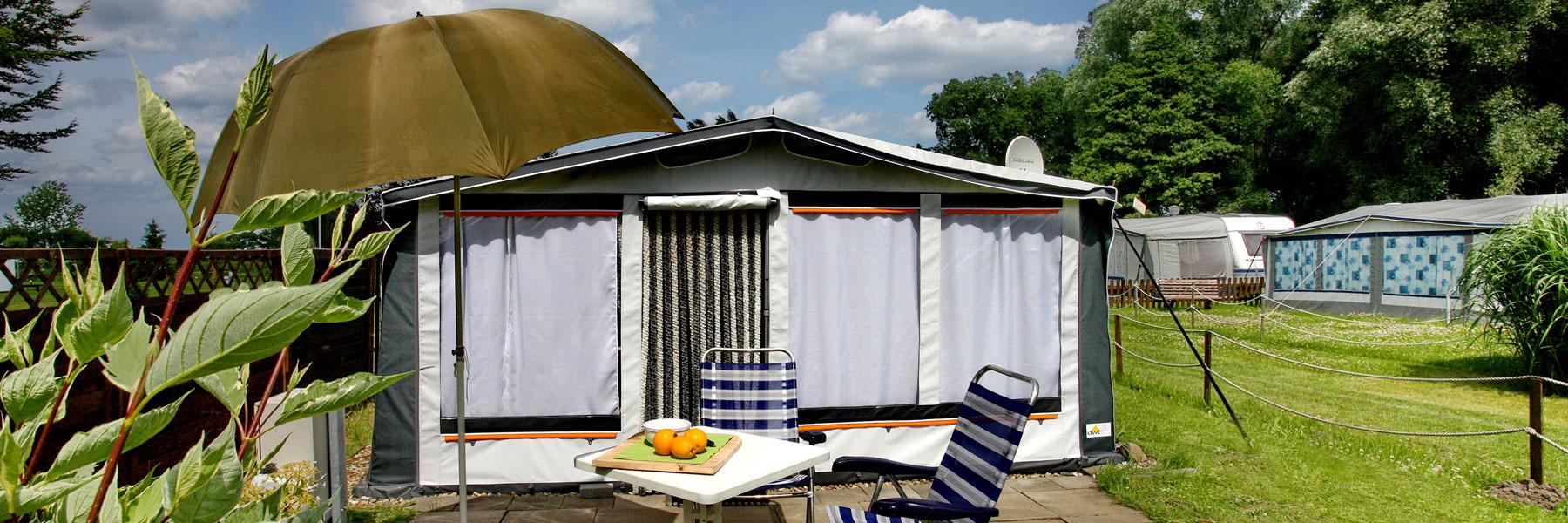 Wohnwagen - Campingplatz Niendorf