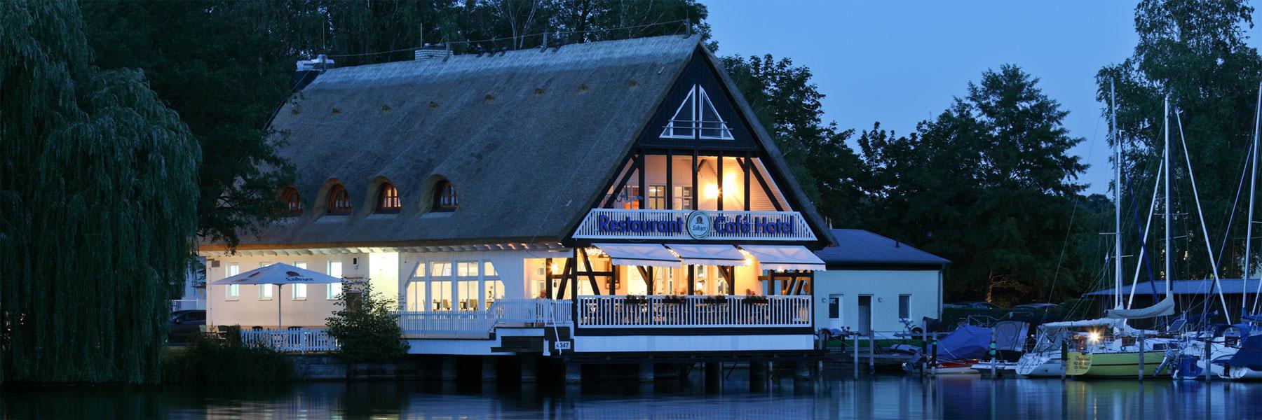 Abendstimmung - Hotel und Restaurant Seglerheim