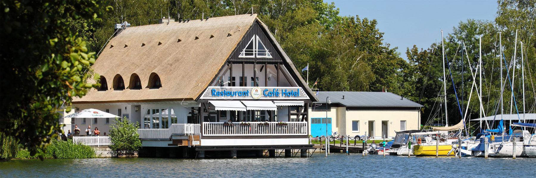 Außenansicht - Hotel und Restaurant Seglerheim