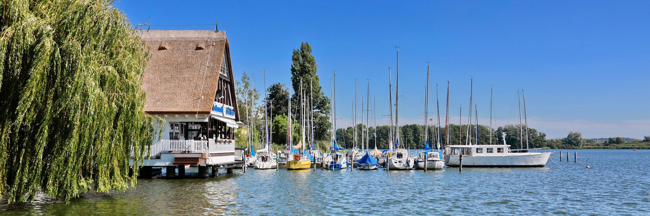 Segelboote - Hotel und Restaurant Seglerheim