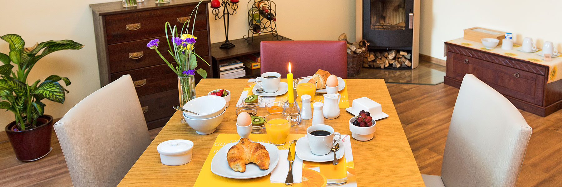 Frühstück - Landhaus Rügeband