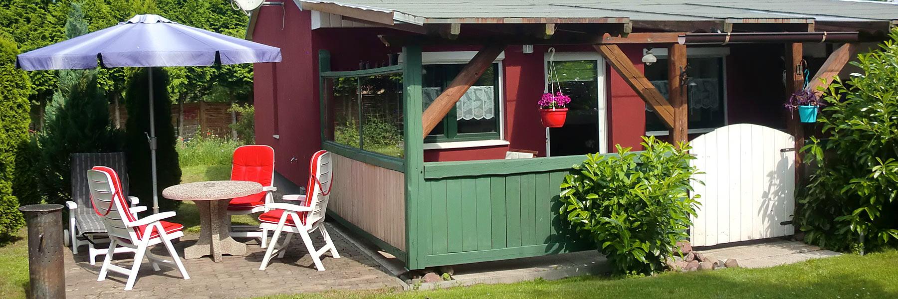 Terrasse & Garten - Ferienwohnungen Familie Paape