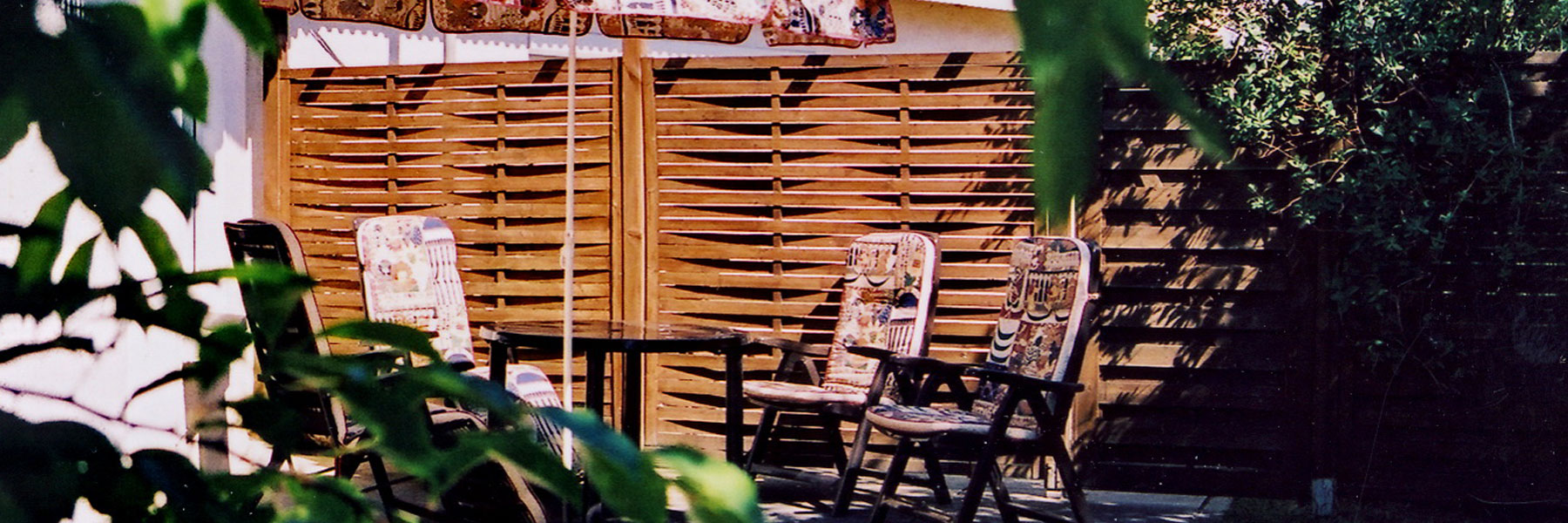 Terrasse - Ferienwohnung Claus