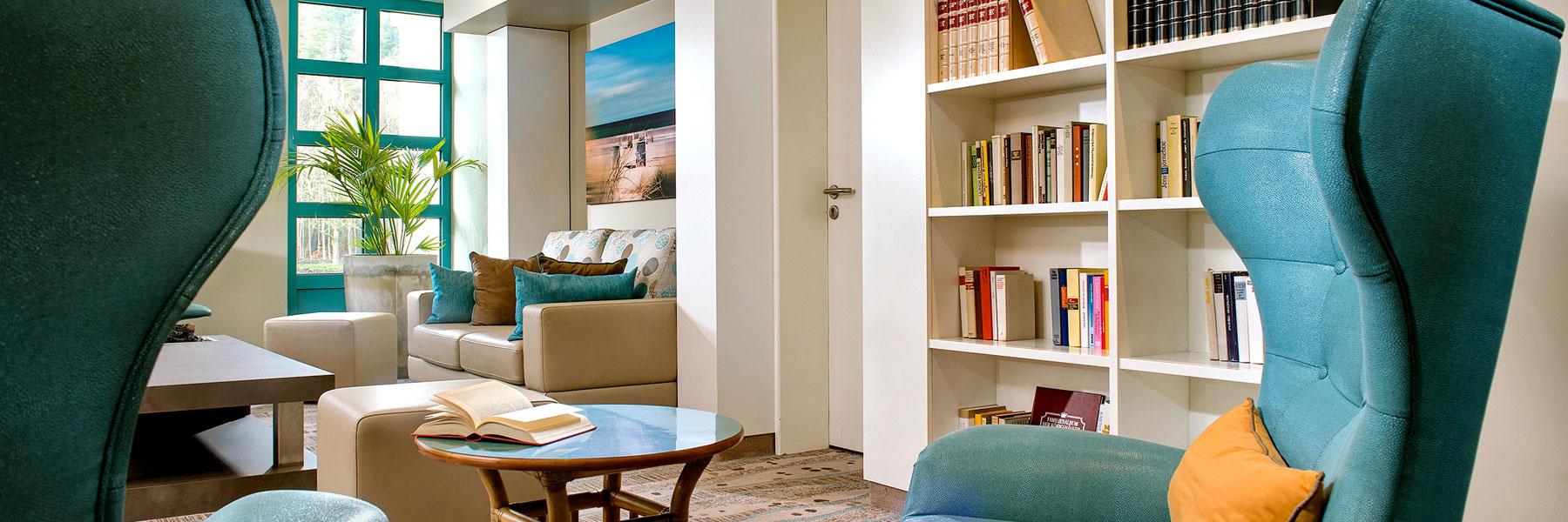 Bibliothek - Bernstein Hotel Prerow