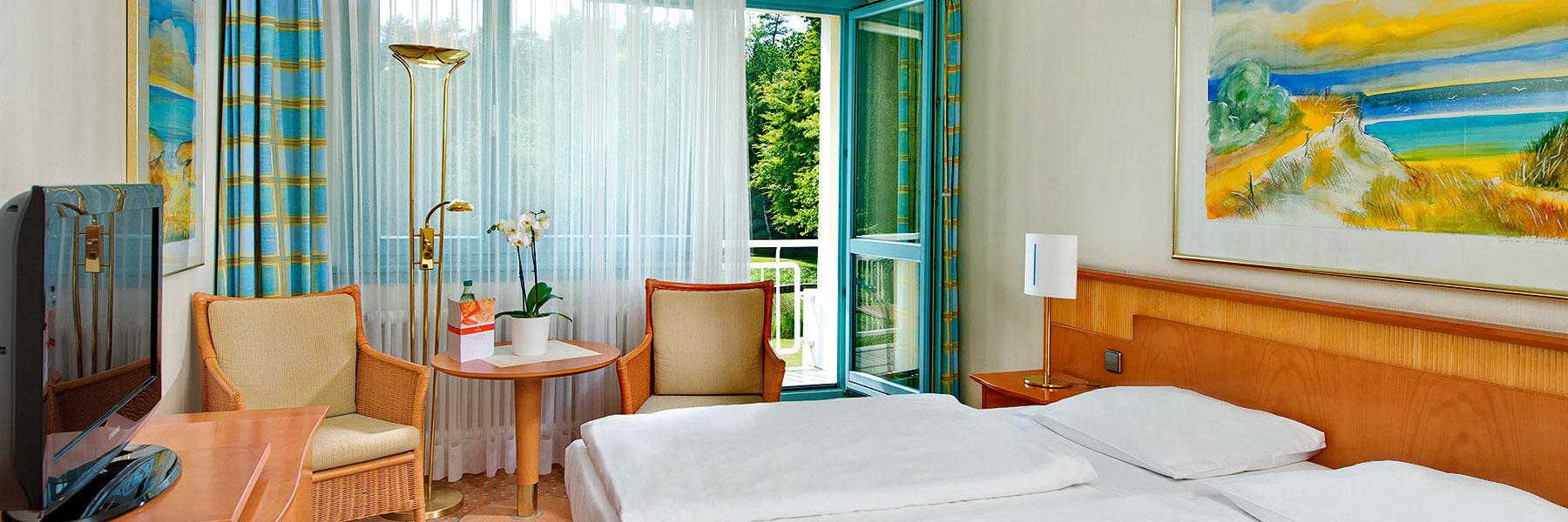 Doppelzimmer - Bernstein Hotel Prerow