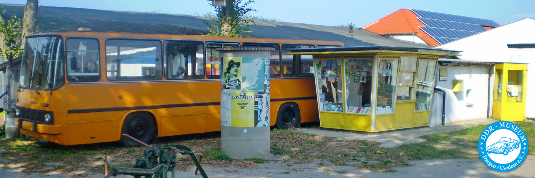 Bus und Kiosk - DDR-Museum Dargen / Usedom e.V.