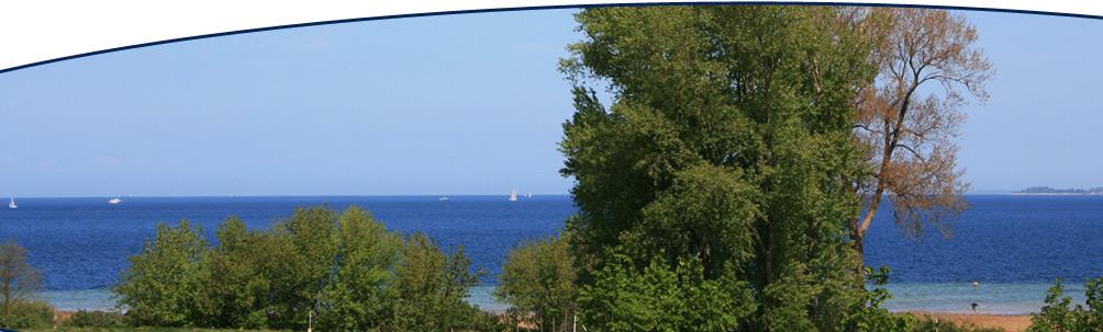 Ausblick vom Balkon der Ferienwohnung