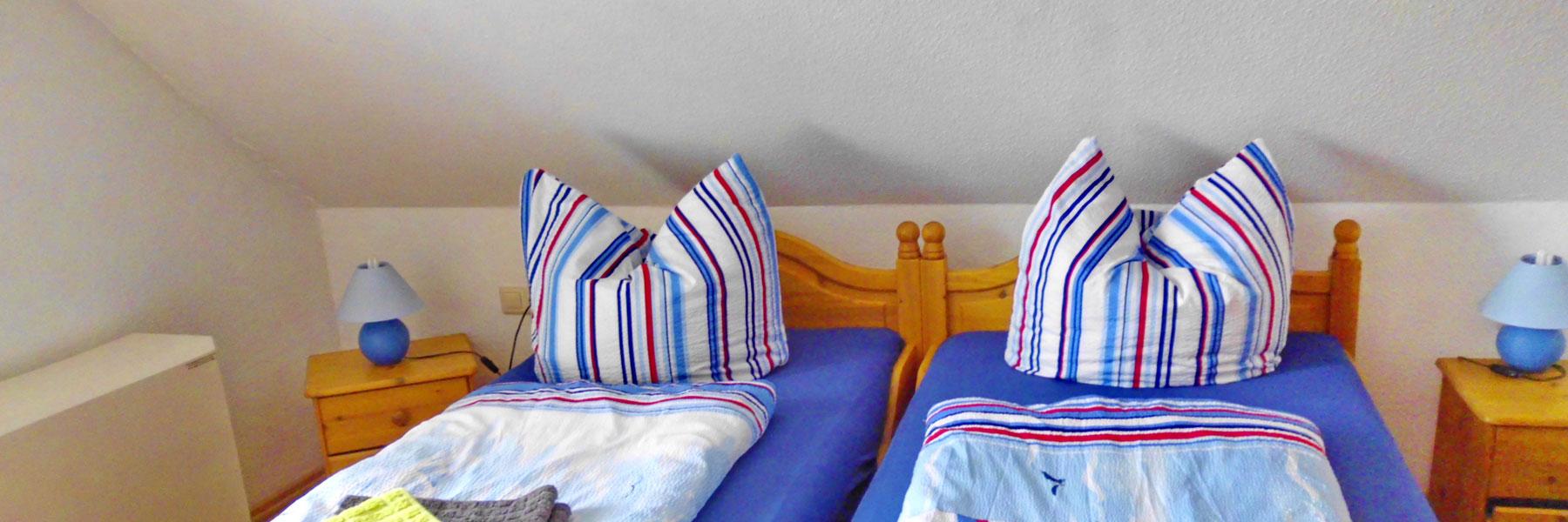 Schlafzimmer - Ferienhaus Caroline