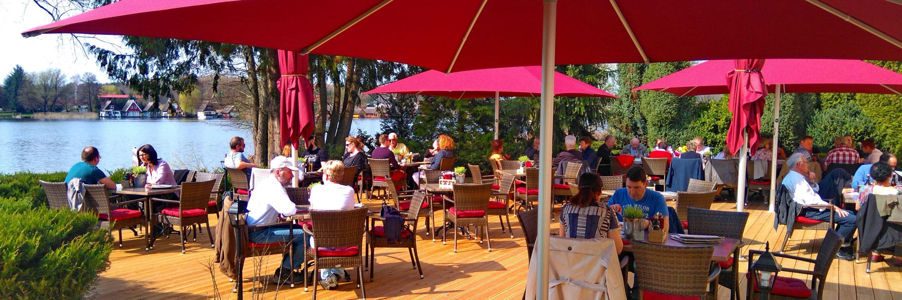 Terrasse - Alte Schlossbrauerei Restaurant & Hotel