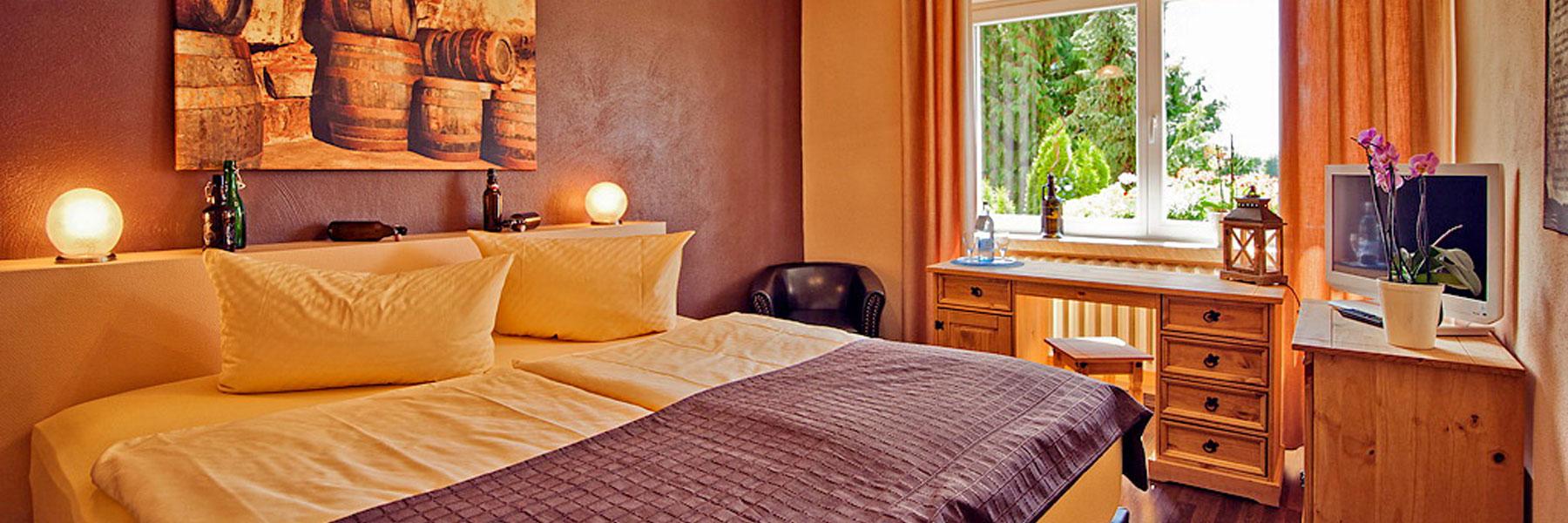 Zimmeransicht - Alte Schlossbrauerei Restaurant & Hotel