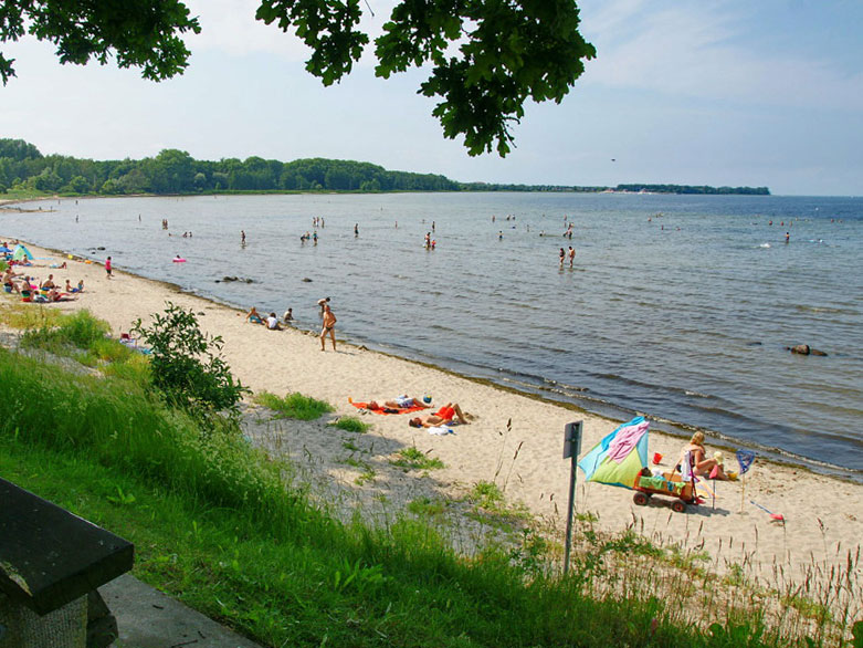 Ostseestrand in Zierow nahe Wismar