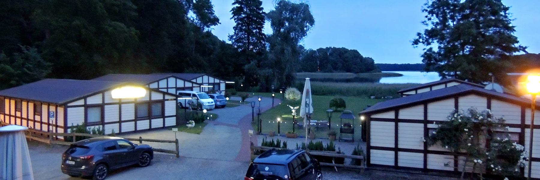 Abendstimmung - Insel-Hotel & Ferienhäuser Dobbertin