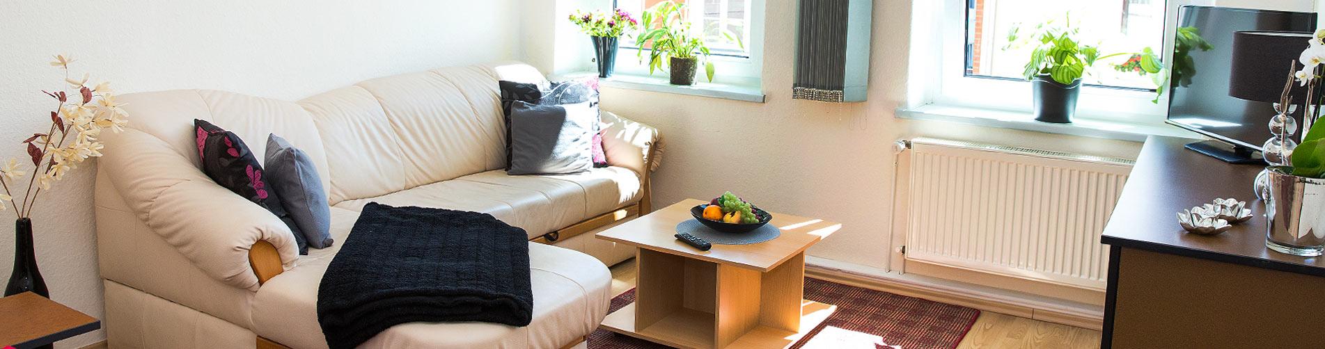 Haus-mueritzperle-wohnzimmer - Haus Müritzperle