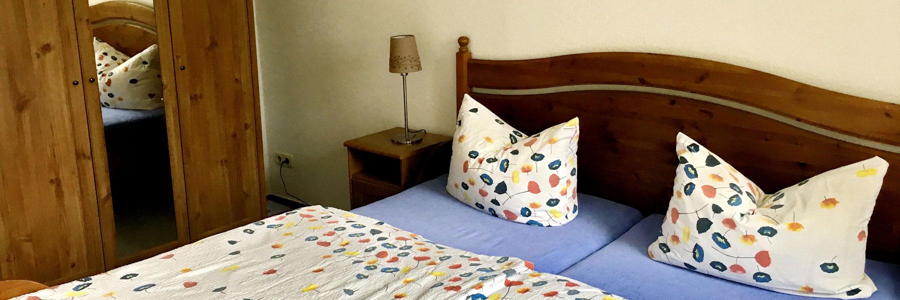 Schlafzimmer - Haus am Gadowsee