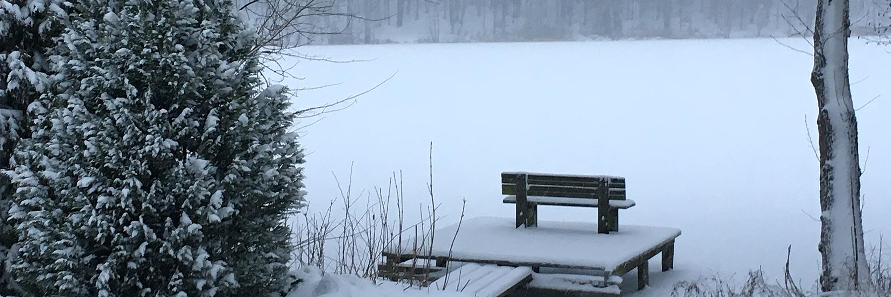 Winter - Haus am Gadowsee
