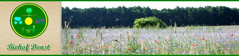 Willkommen auf dem Biohof Donst in Strietfeld