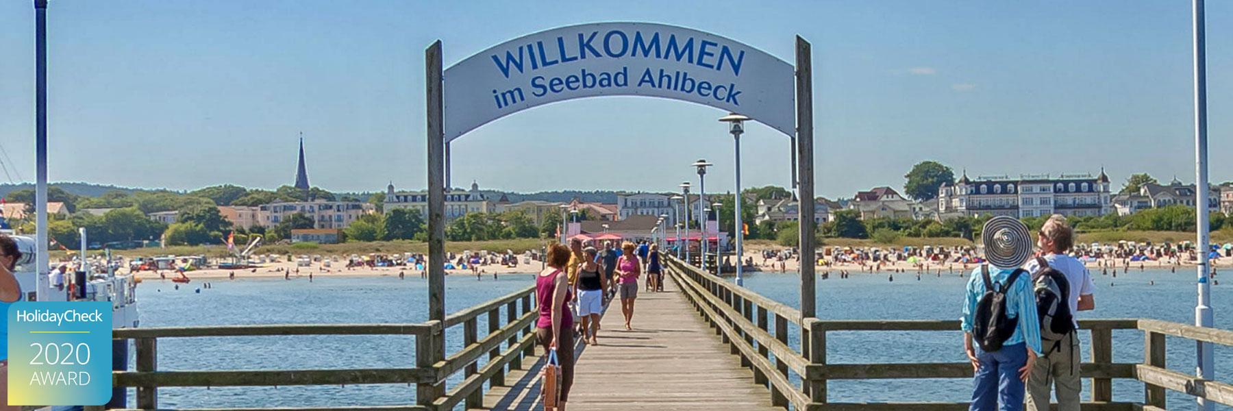 "Seebrücke Ahlbeck - Aparthotel ""Strandhus"" Familie Herrgott"