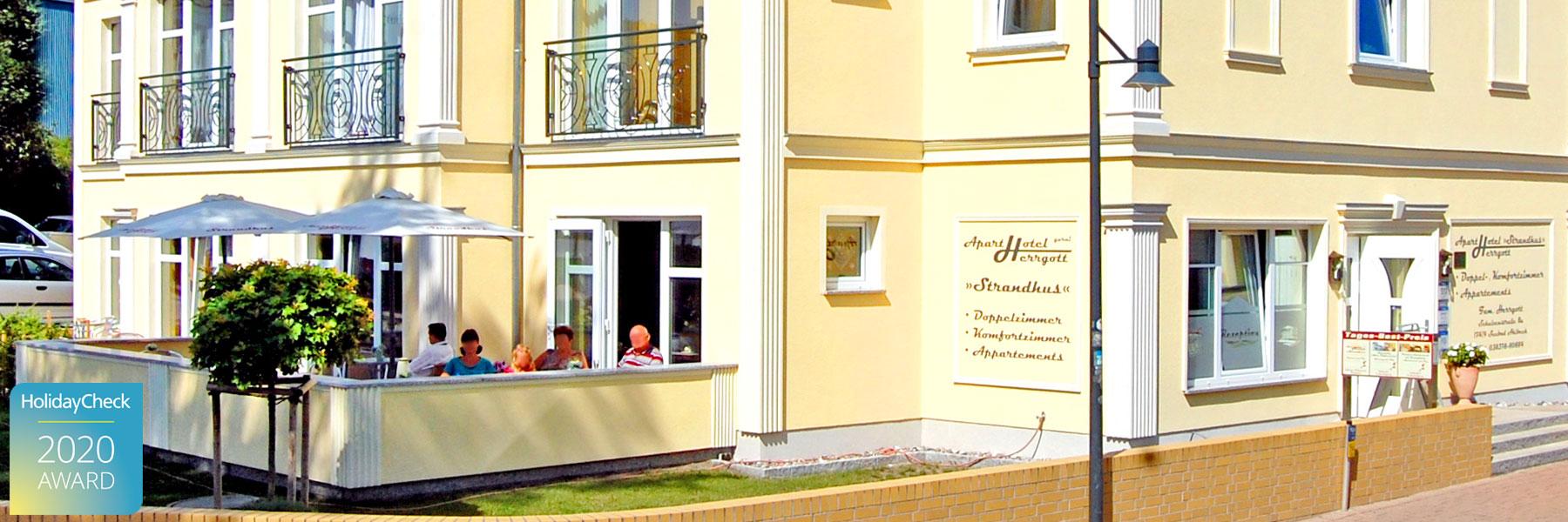 "Terrasse - Aparthotel ""Strandhus"" Familie Herrgott"