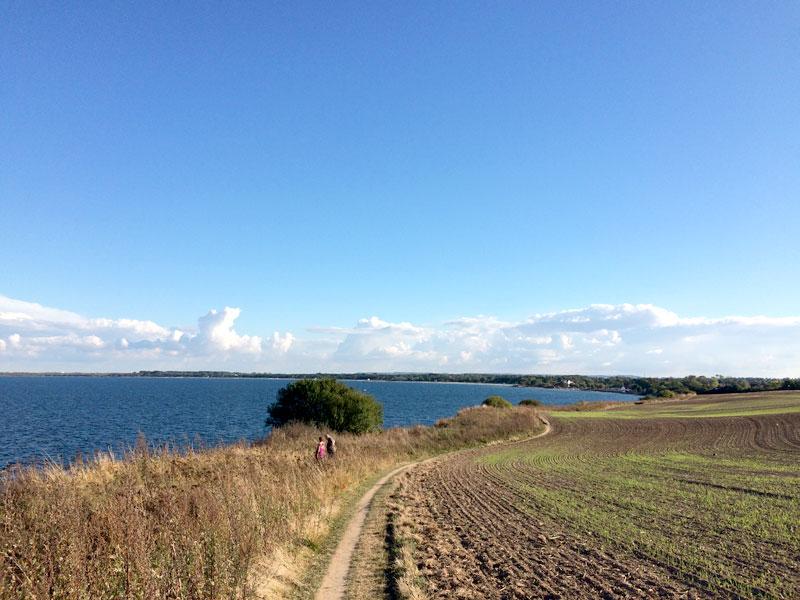 Blick auf die Ostseeküste vor Boltenhagen