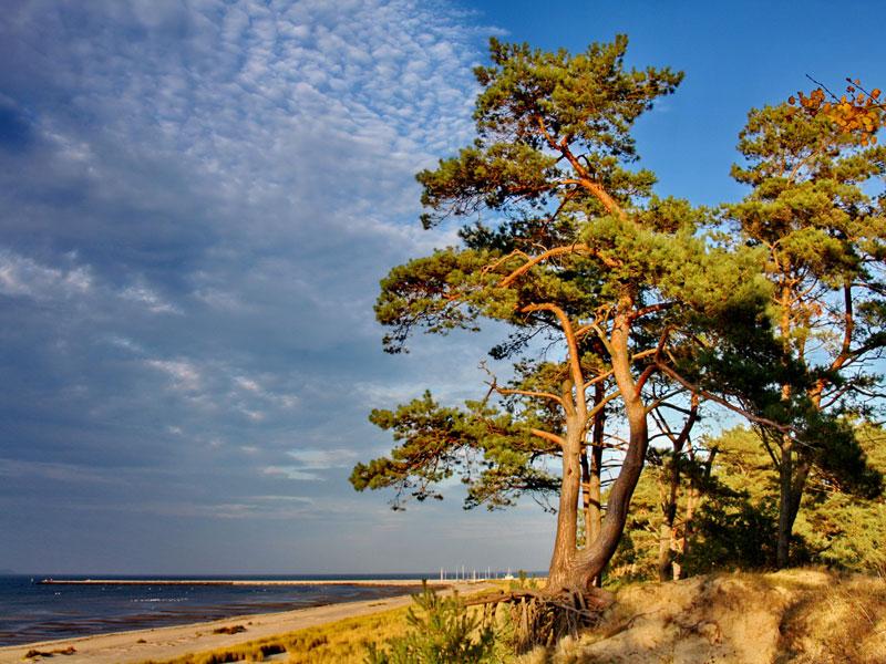 Ostseeküste von Lubmin