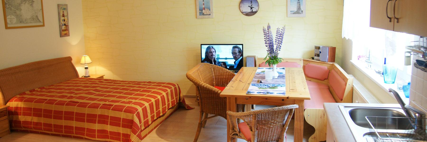 Wohnraum - Ferienwohnung Lubmin