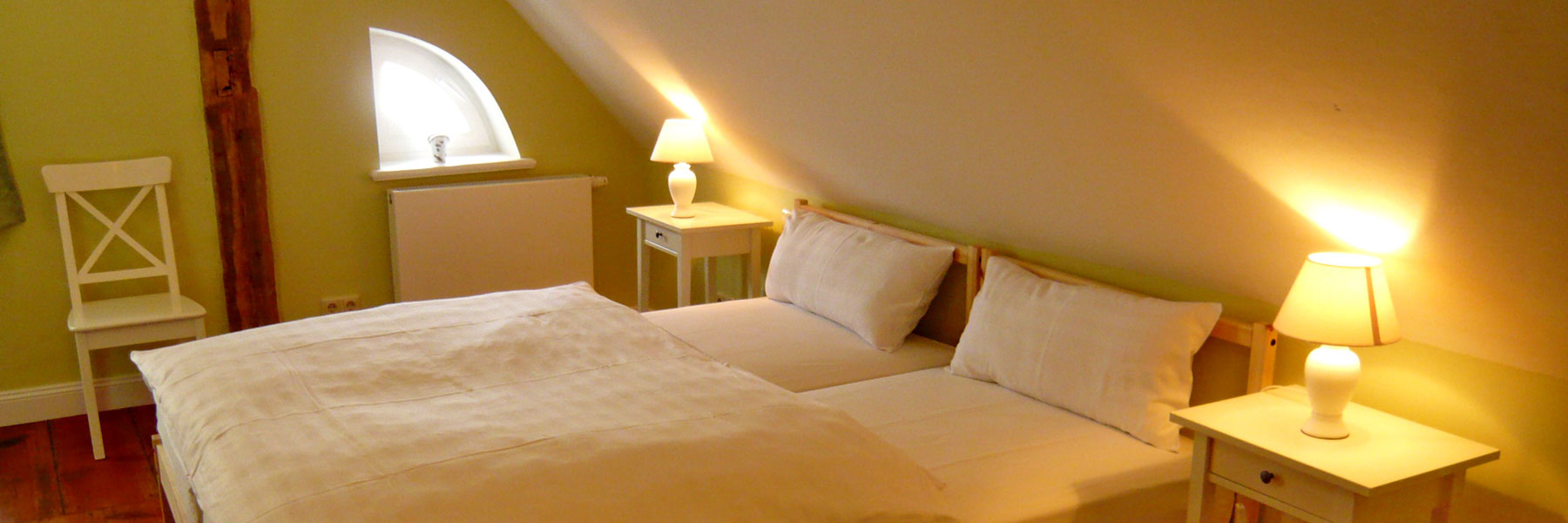 Schlafzimmer - Schloss Pütnitz