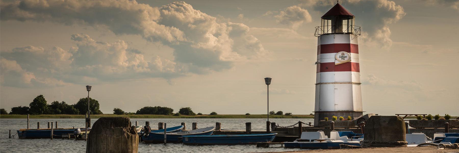 Leuchtturm Sonnenuntergang - Insel Ummanz