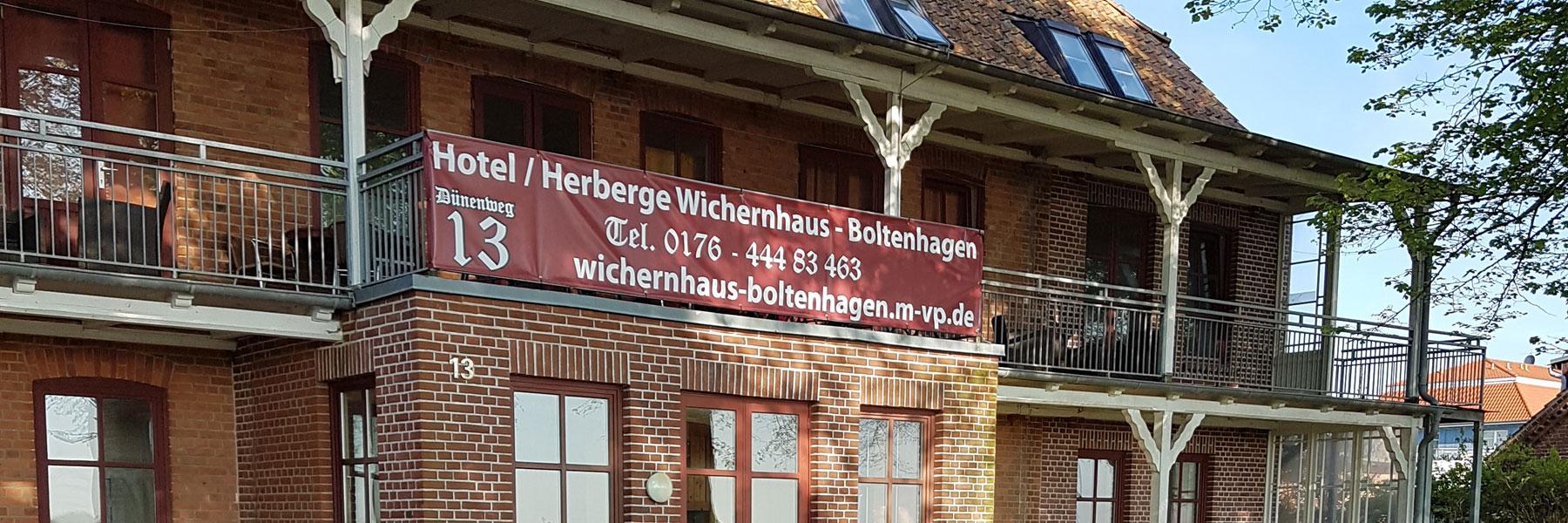 Fritz Reuter Haus - Wichernhaus Boltenhagen