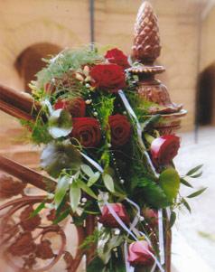 Hochzeitsblumendeko