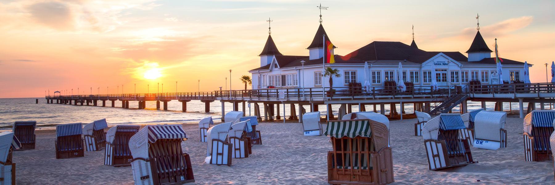 Seebrücke Strand - Seeheilbad Ahlbeck