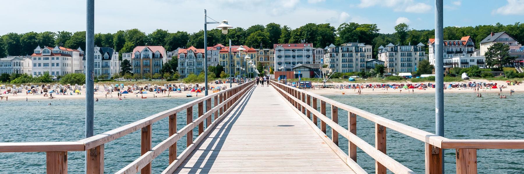 Seebrücke - Seeheilbad Bansin